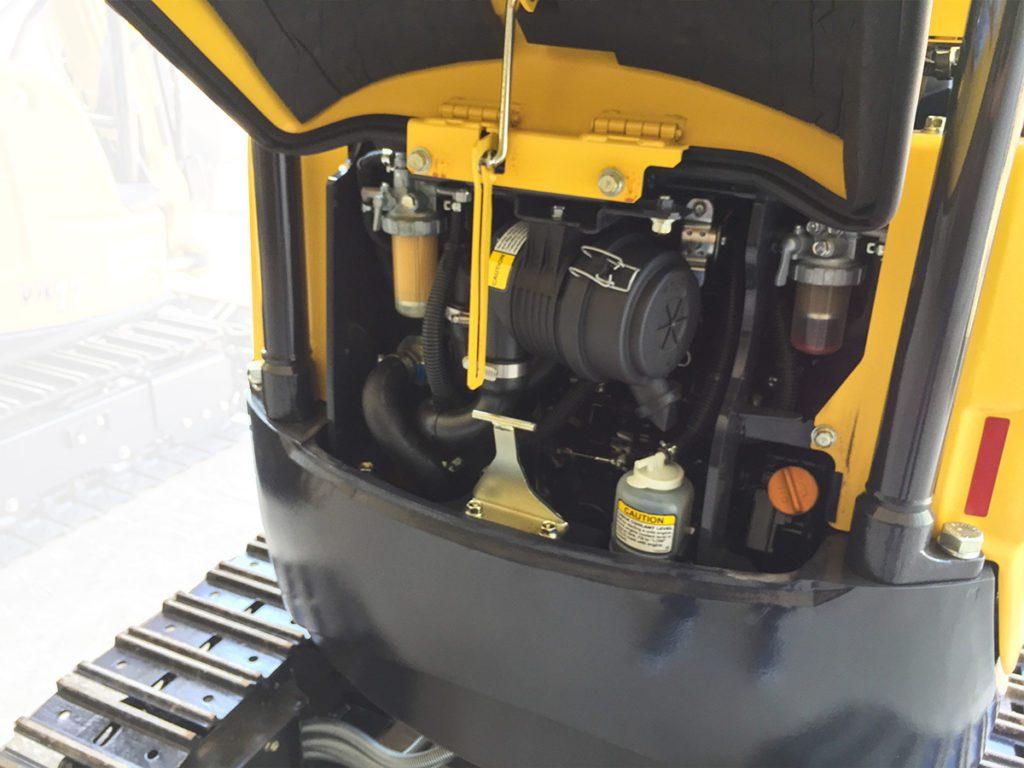 เครื่องยนต์รถขุดยันม่าร์ ViO17