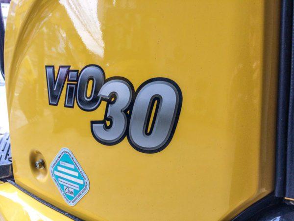 รถขุดยันม่าร์ รุ่น ViO30 (3.0 ตัน)