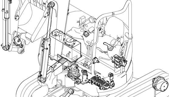 ระบบไฮดรอลิกคุณภาพสูง ในรถขุดยันม่าร์