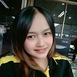 สายรุ้ง เจ้าหน้าที่ศูนย์บริการยันม่าร์จันทบุรี